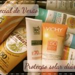Especial de Verão: Proteção solar diária