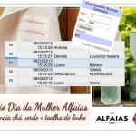 Resultado Sorteio Dia da Mulher Alfaias!