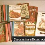 Minha outra paixão: livros de culinária