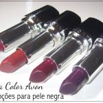 Batom Ultra Color Avon   Opções para pele negra
