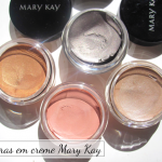 Sombras em creme Mary Kay