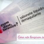Sabonete Demaquilante Líquido | QDB